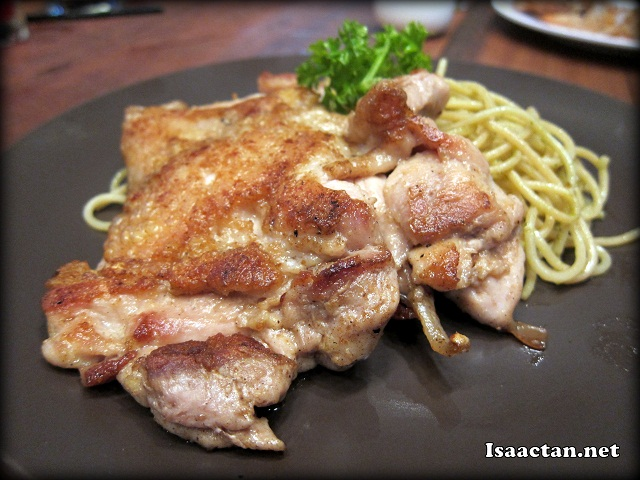 Grilled Chicken Spaghetti Pesto - RM15.90