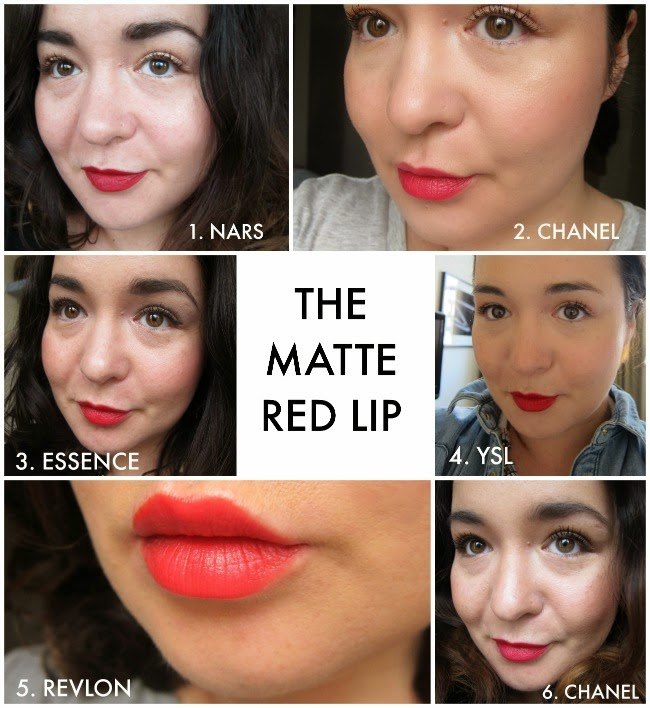 The Best Matte Red Lipsticks