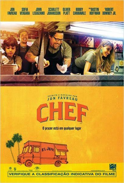 """Poster do filme """"Chef"""""""