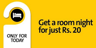 Book a hotel today and get a room night at just Rs. 20