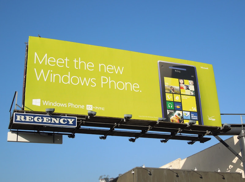 Meet new Windows Phone billboard