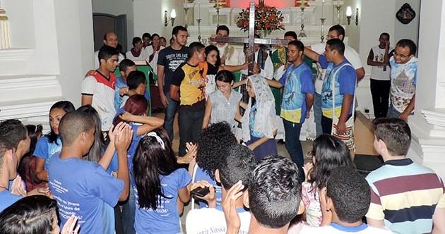 Missão Jovem em Touros (RN) acolhe missionários de Brasília, Quixadá, Caicó, Angicos e Pureza