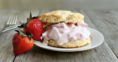 Light Strawberry Shortcake