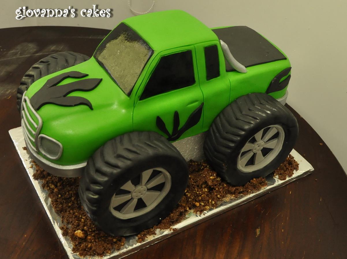 giovanna s cakes: Monster truck cake
