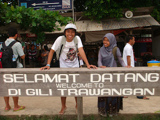 Kota Gili Trawangan - Kota tanpa kendaraan