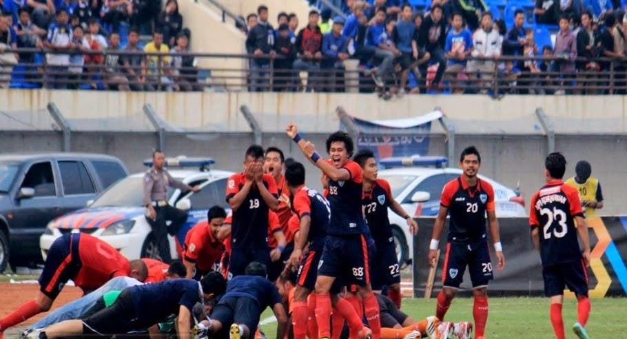Hasil Pertandingan 8 Besar ISL Kamis, 30 Oktober 2014