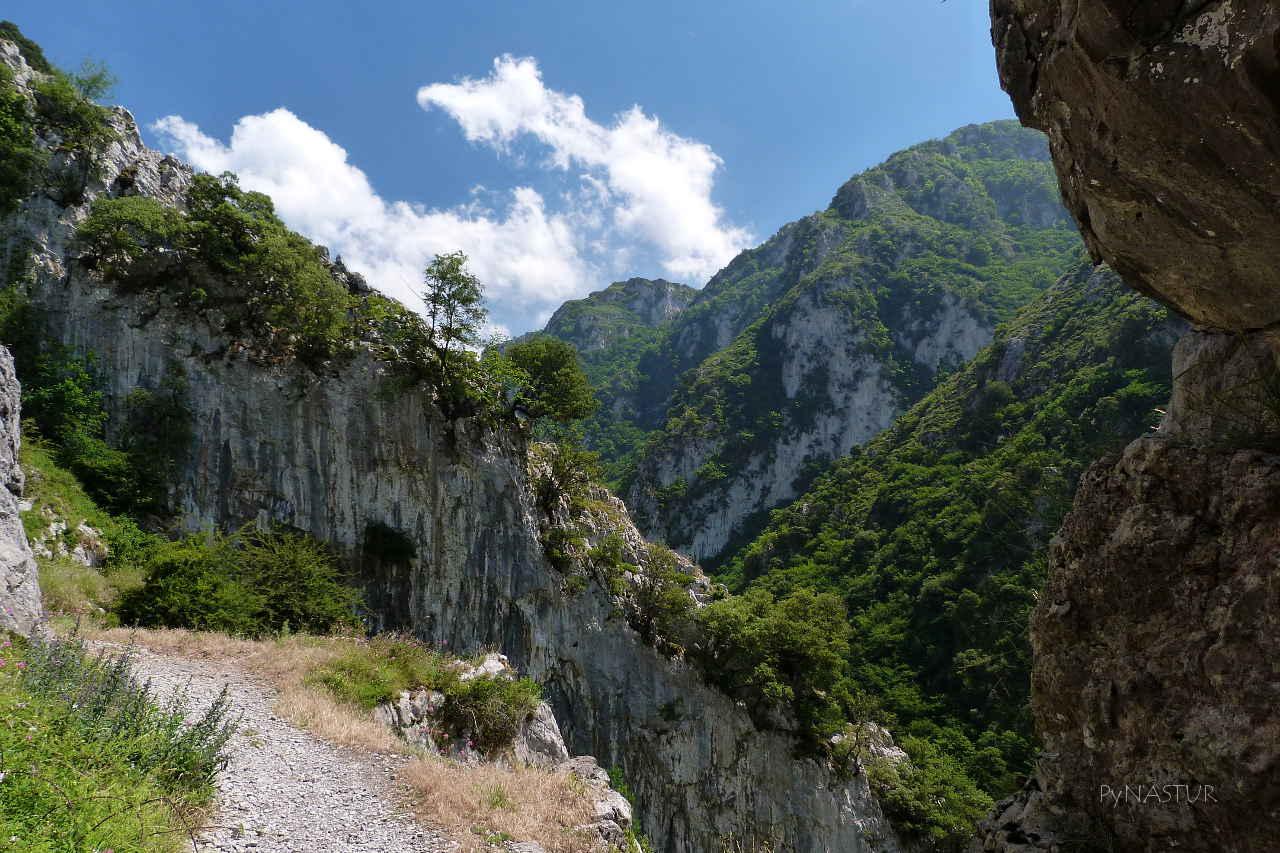 Foto del Desfiladero de Las Xanas Asturias