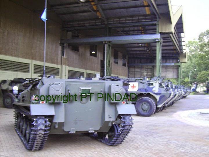 Kembangkan Tank dan Roket, Pindad Butuh Suntikan Dana Rp 700 Miliar