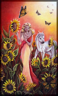The Sun, Crystal Visions Tarot