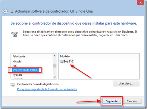 драйвер cif single chip