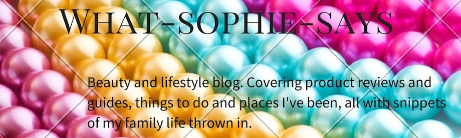What Sophie Says
