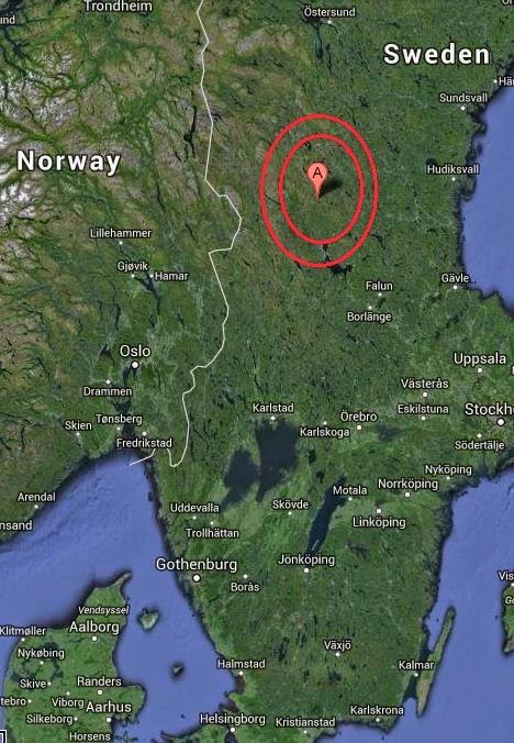 Magnitude 4.7 Earthquake of AElvdalen, Sweden 2014-09-15