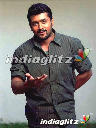 Surya in 'Aaru' Movie