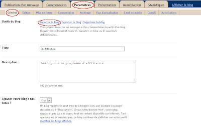 importer blog blogger