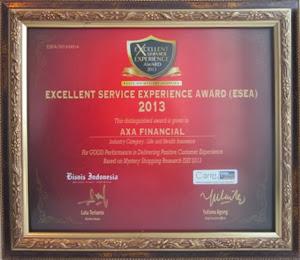 Penghargaan AXA 2013