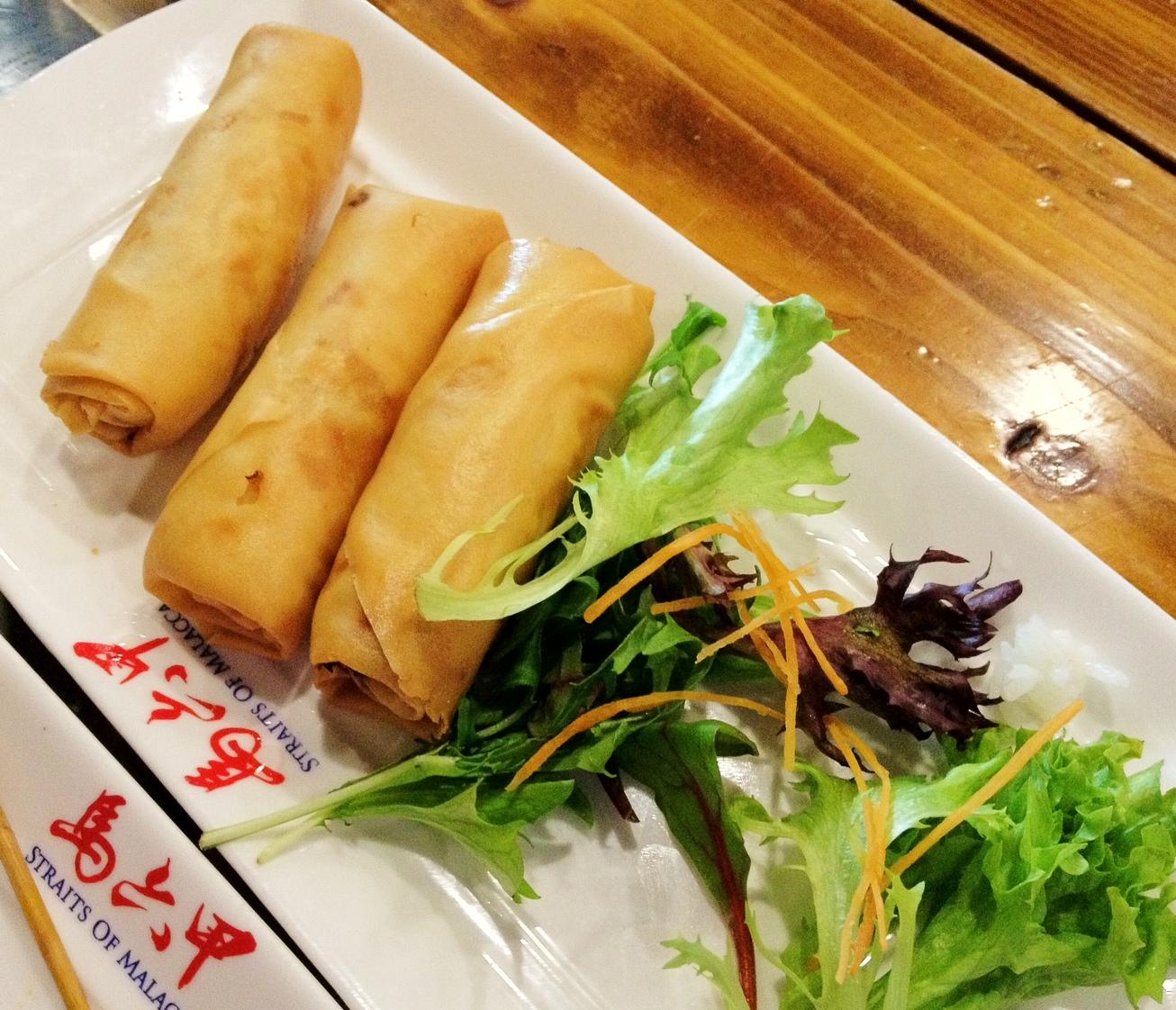 Fried Tofu Skin Roll But The Tofu Skin Roll 腐