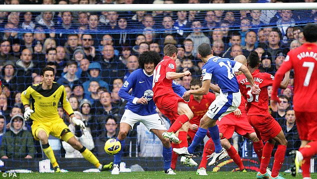 Cuplikan Video Gol Highlights Everton vs Liverpool 2-2, 28 Okt 2012