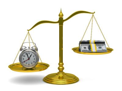 Time is time, yang lebih dari pada hanya sekedar uang