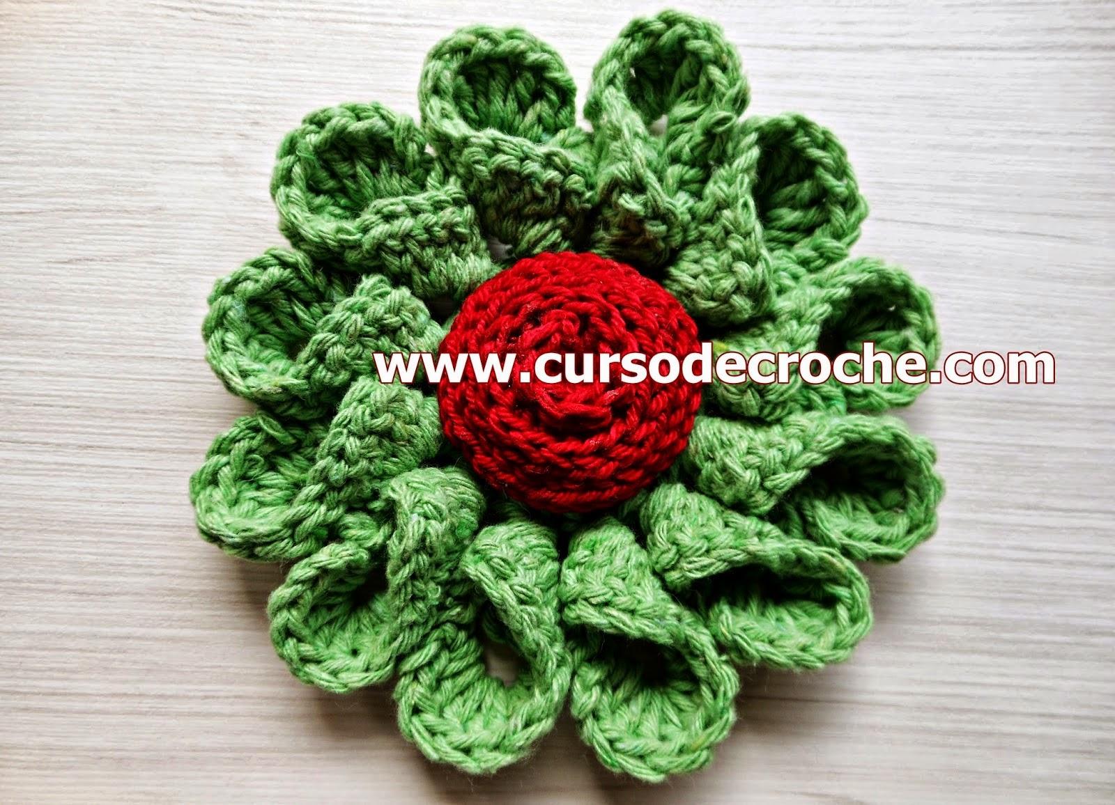 dvd flores em croche 5 volumes com Edinir-Croche na loja curso de croche com frete gratis