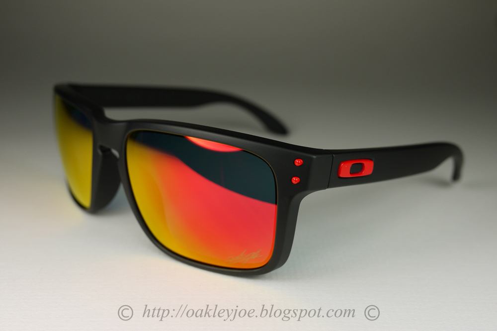 Oakley Limited Editions Deep Red--Gray Lens