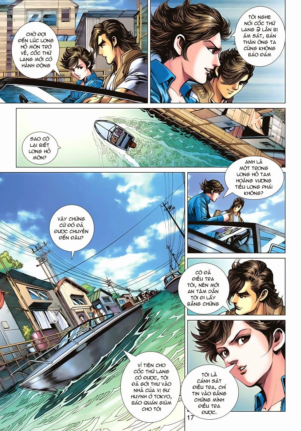Tân Tác Long Hổ Môn chap 626 - Trang 17