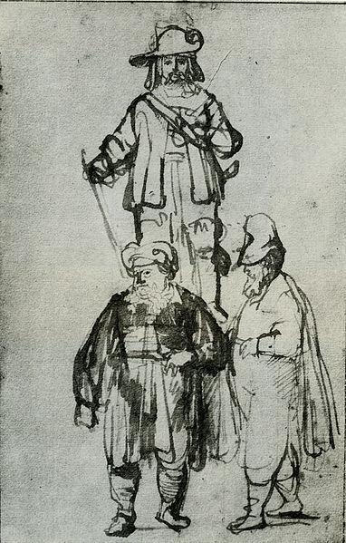 Rembrandt'ın Çizimleri
