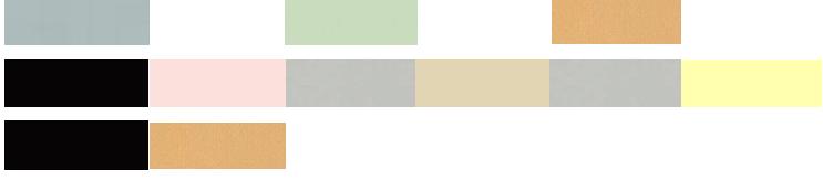 combinación colores neutros y naturales con colores pastel