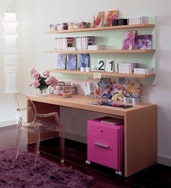 Study table designs for teenagers