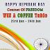Contest !! Happy Republic Day Win A Wonderful Coffee Table