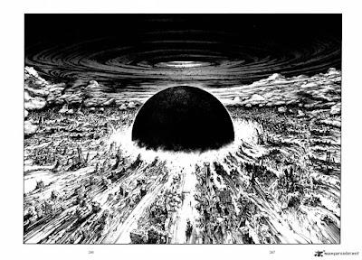 L'art de Katsuhiro Otomo - Akira - un univers post-apocalyptique