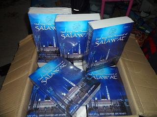 One Day One Thousand Salawat, buku, sholawat