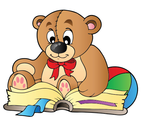 Bookish bear