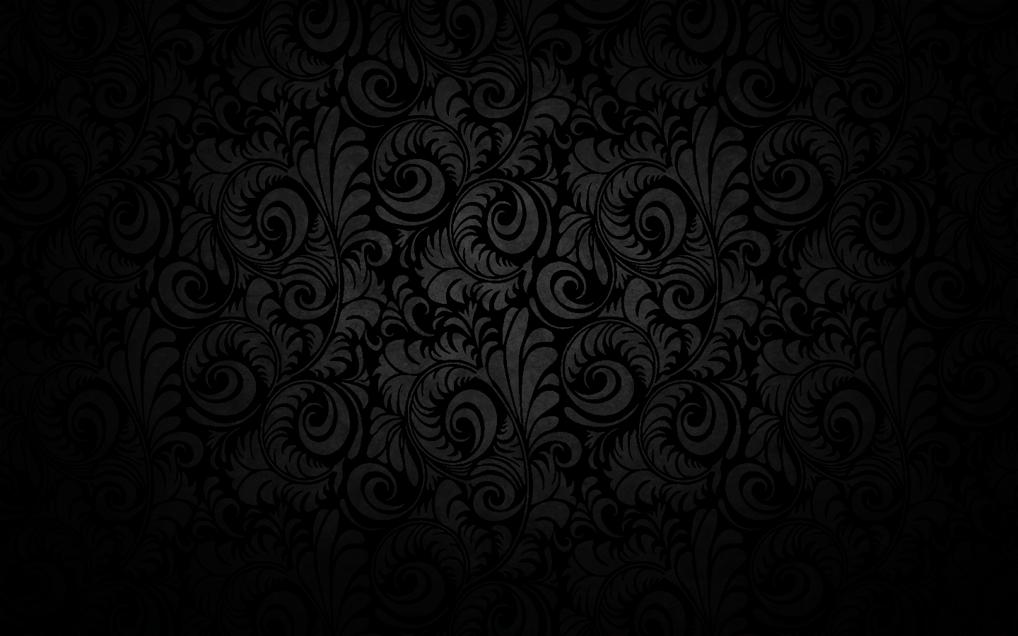 Black Wall Paper Decor : Amazing black pattern design hd wallpaper