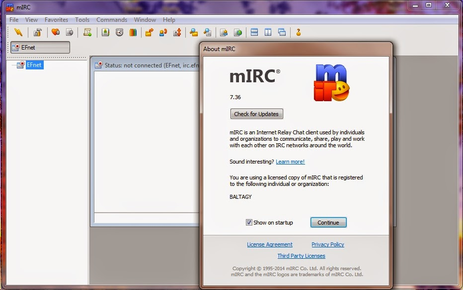 mIRC Portable