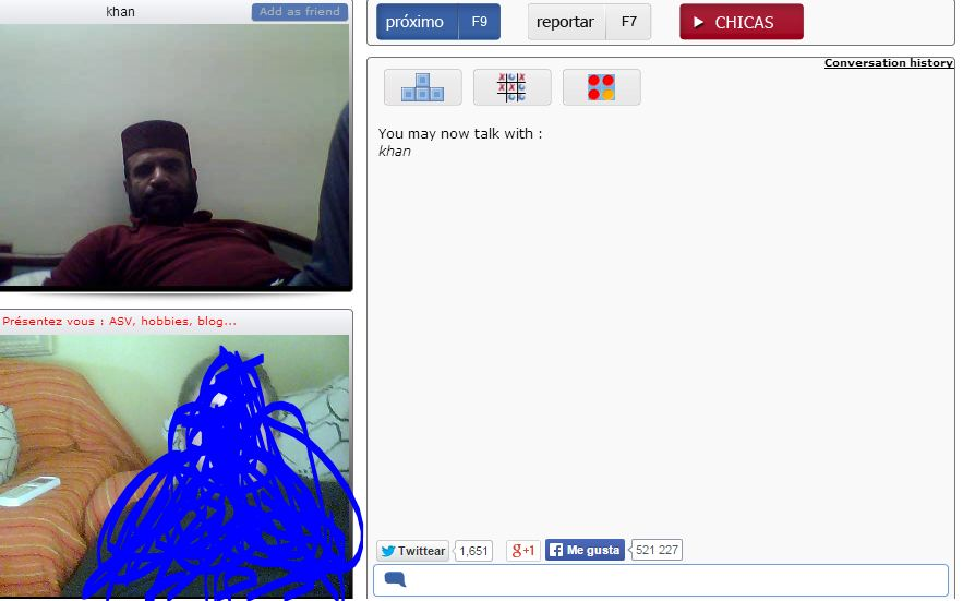 chatear por webcam