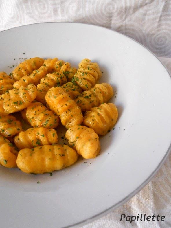 gnocchis patate douce