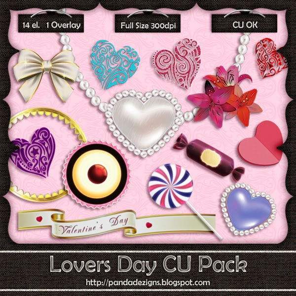 New: Lovers Day CU Pack + CU Freebie