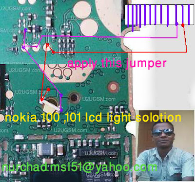 c1 Nokia Lcd Light Solution Nokia 100 Lcd Light Problem