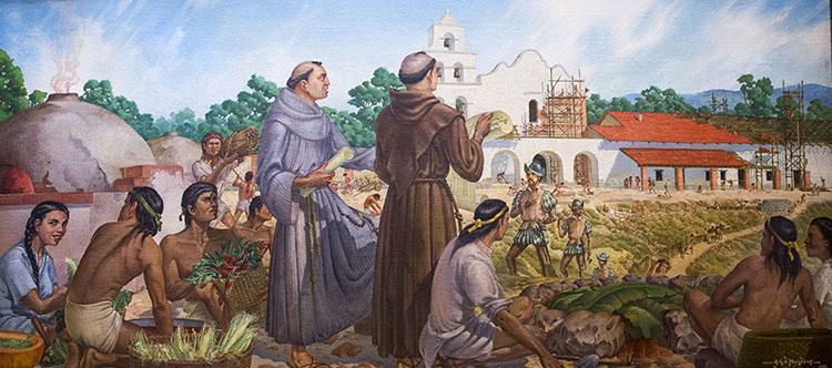 Father Serra - Missionary