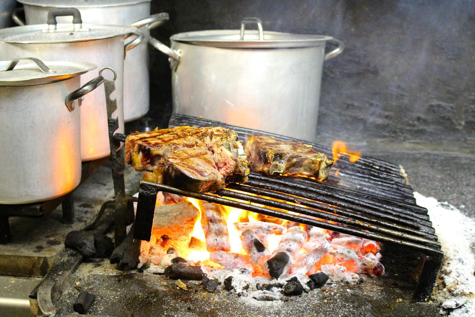 Trattoria Sostanza Firenze grilled steak