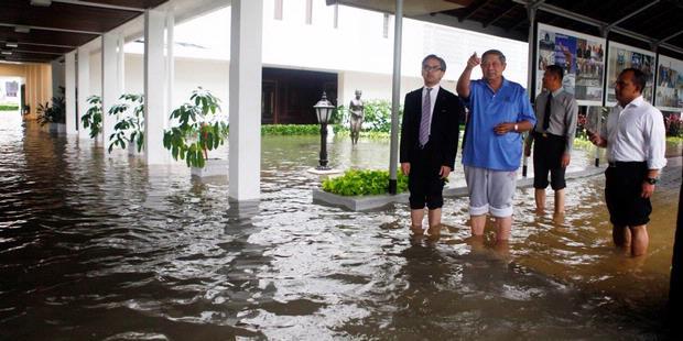 Presiden SBY Tetapkan Dua Prioritas Penanggulangan Banjir