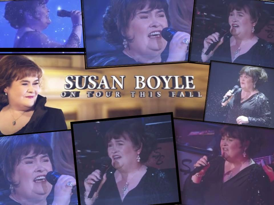 Susan Boyle USA Concert Tour