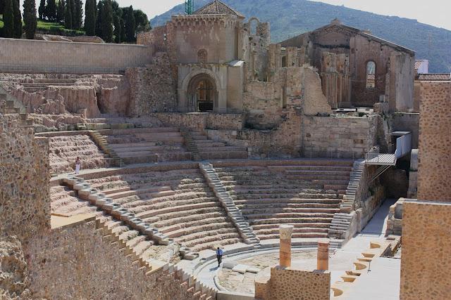 Teatro romano de Cartagena pequeño