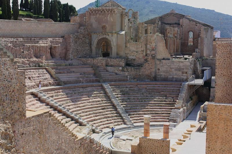 Teatro romano de Cartagena grande