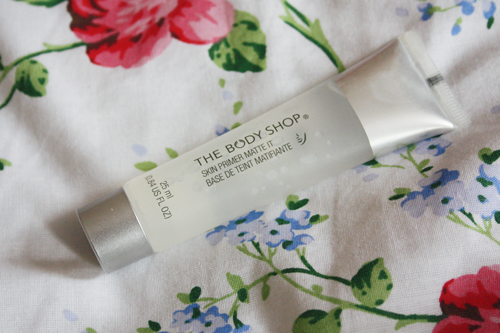 The Body Shop Matte It Primer review on francescasophia.co.uk