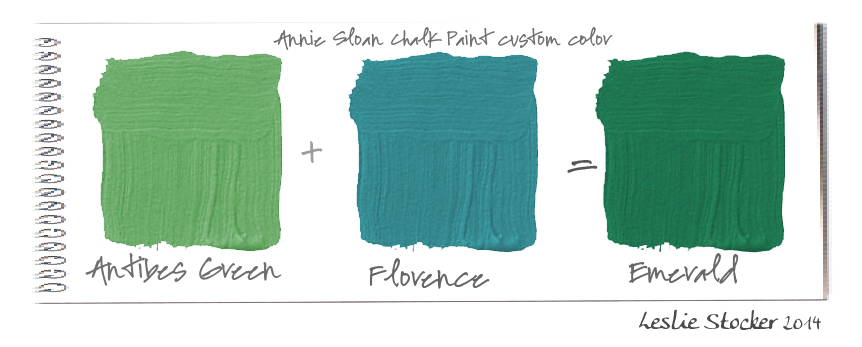 Color palettes january 2014 - How to mix emerald green paint ...