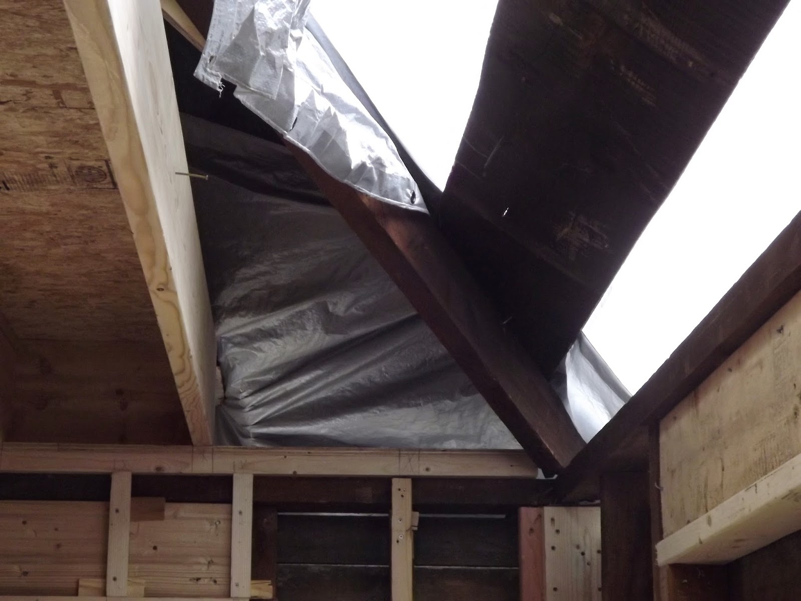 The Above Picture Shows The Original Hip Rafter That Was