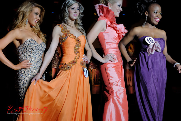 Ball Gown Stage, Emily, Jenna, Jane, Michelle Paul - Miss Earth Australia 2012 Final