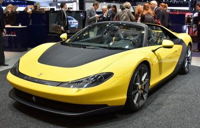 Pininfarina Displays Ferrari Sergio At Geneva Motor Show 2015