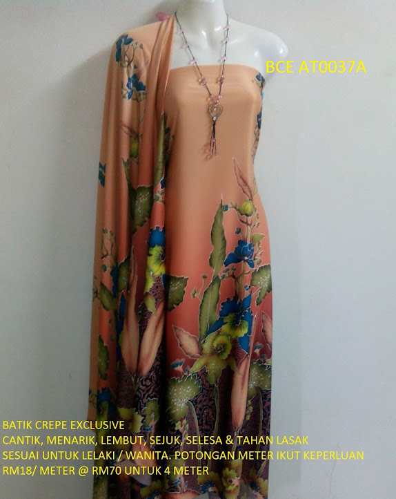 BCE AT0037A: BATIK CREPE EXCLUSIVE
